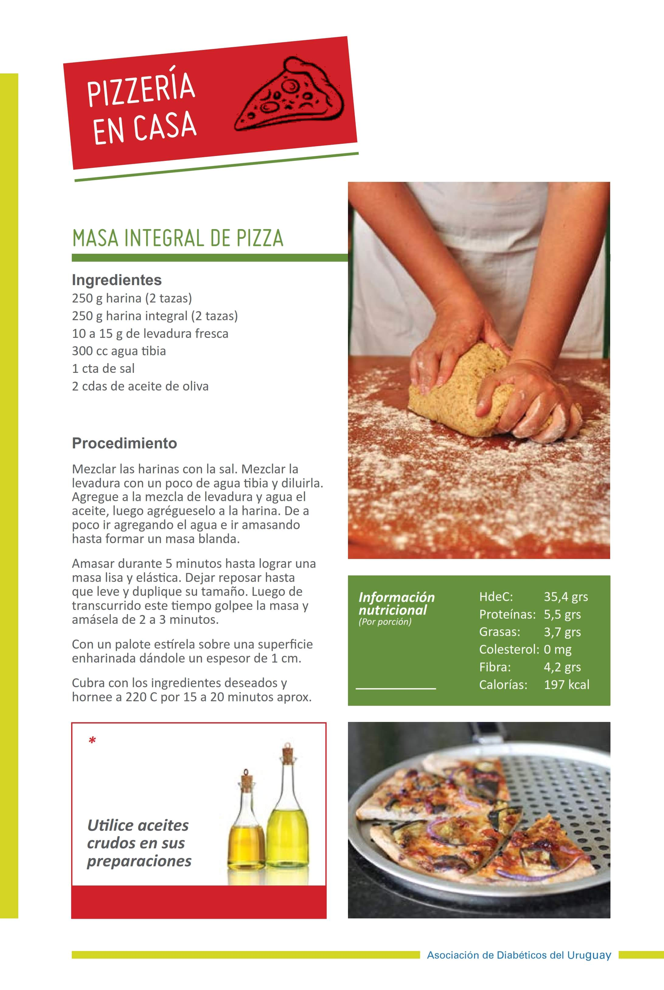 Masa Integral de Pizza