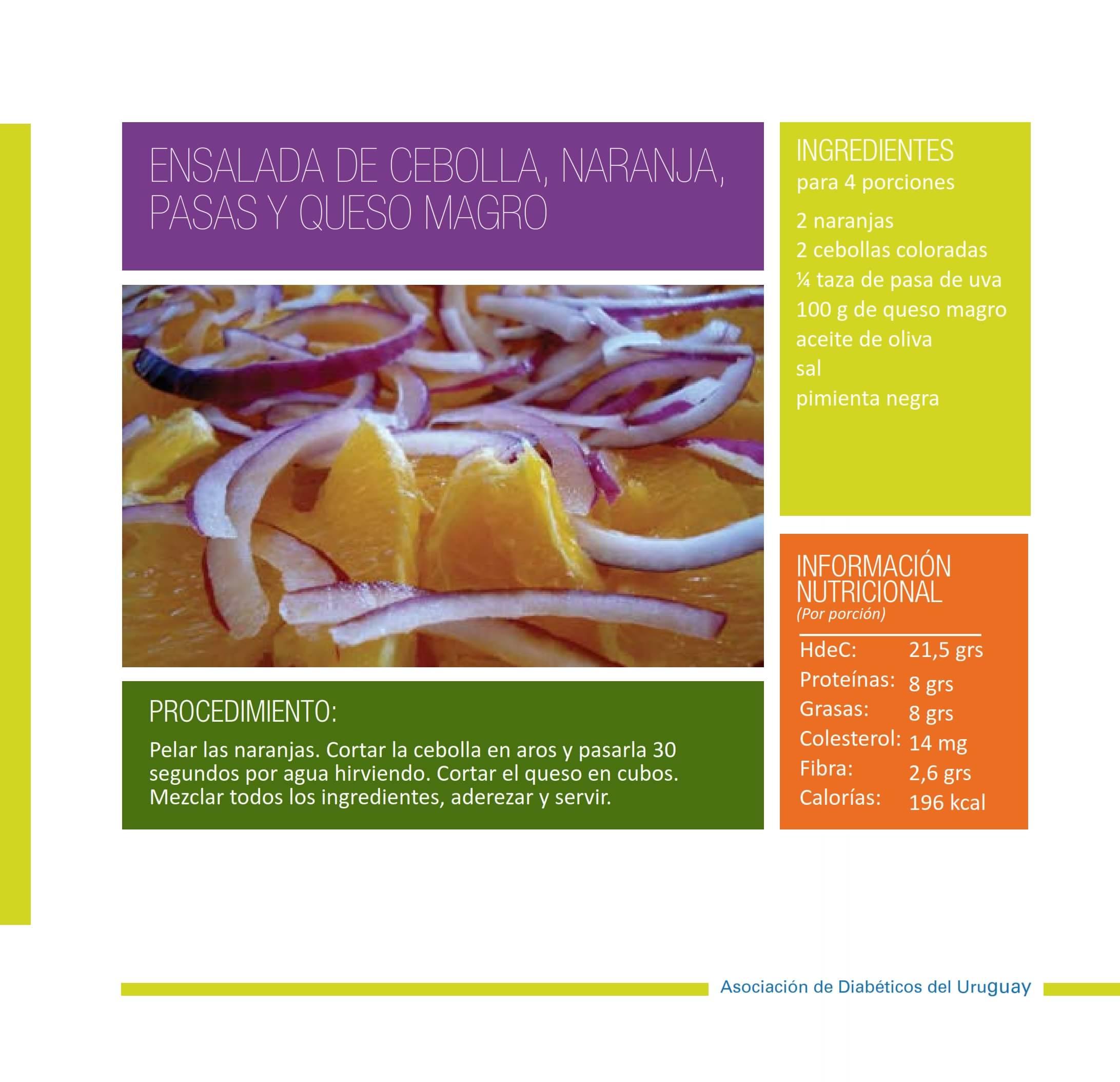 Ensalada de cebollanaranja pasas y queso magro 001-min