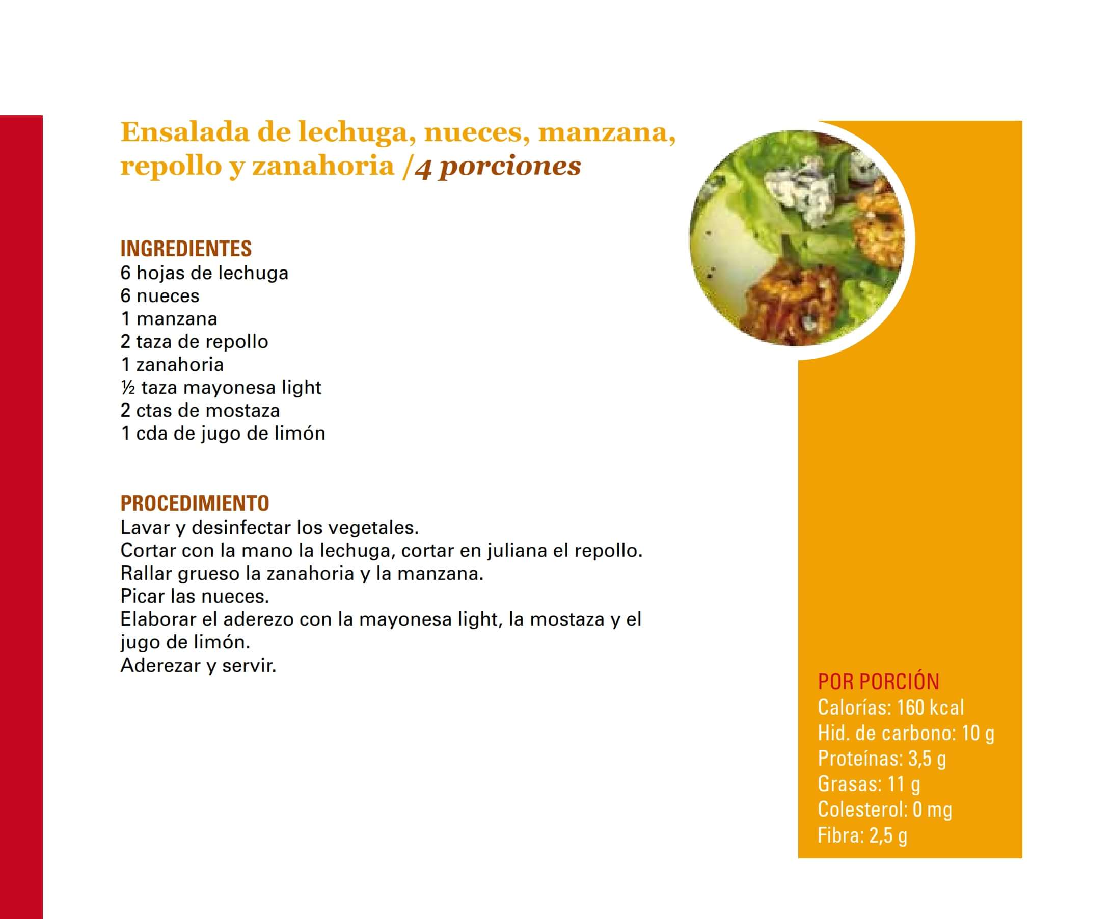 Ensalada de lechuga nueces manzana repollo y zanahoria 001-min