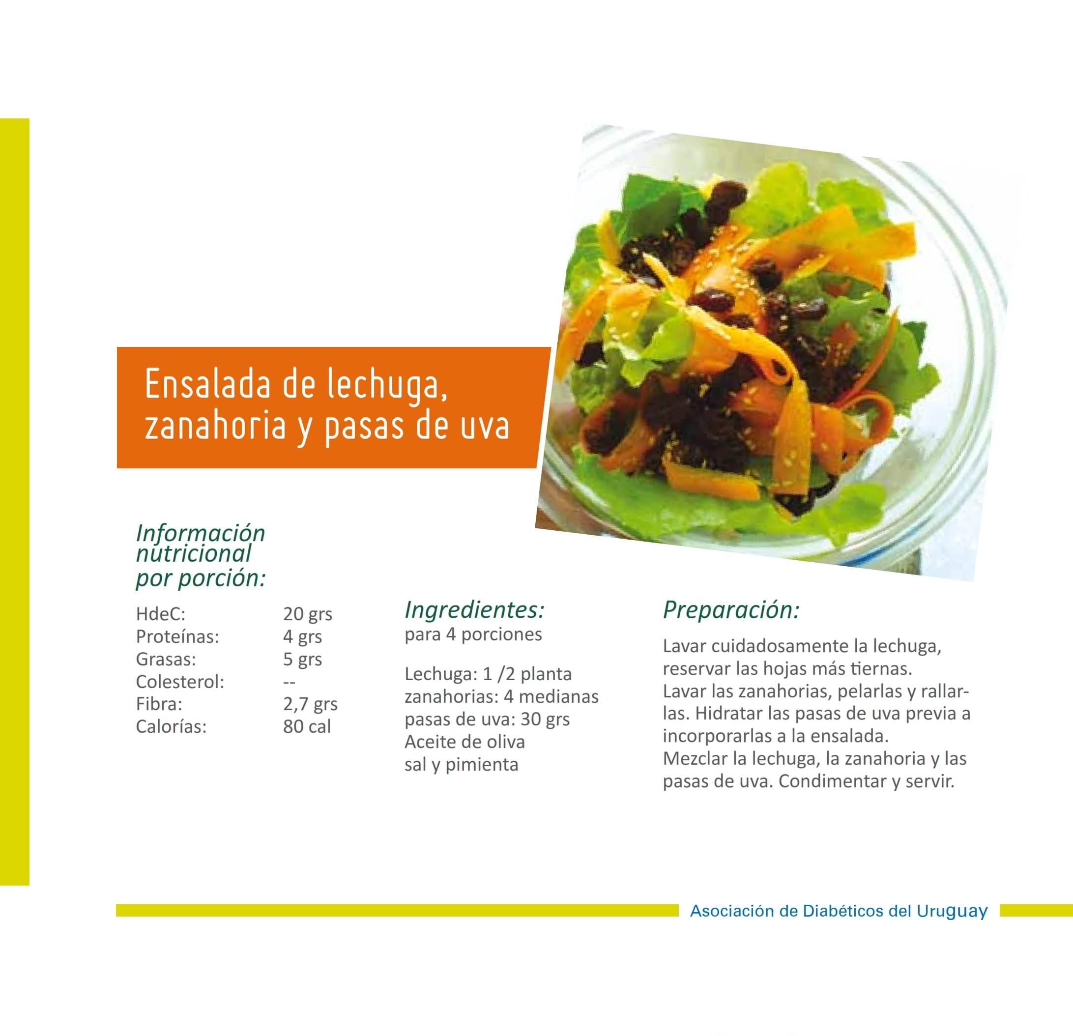 Ensalada de lechuga zanahoria y pasas 001-min