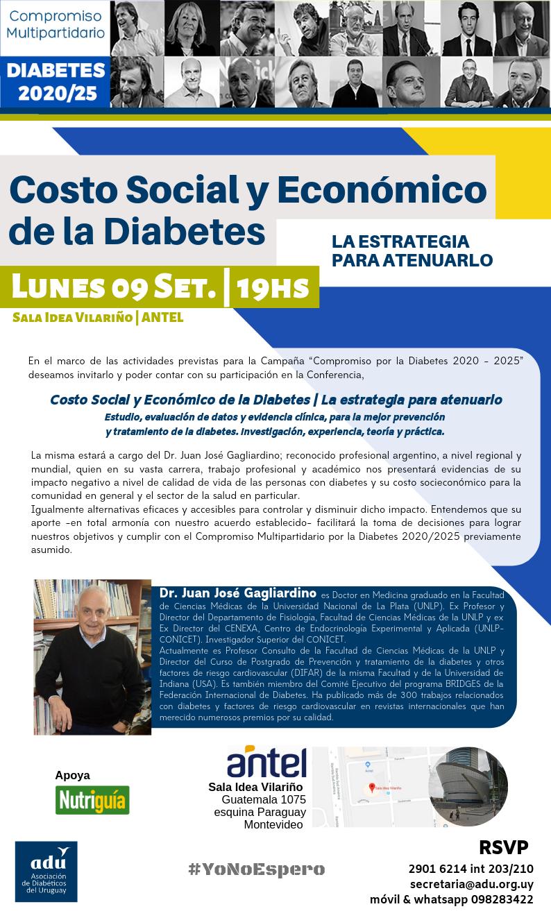firmar pautas para el manejo de la diabetes tipo 2