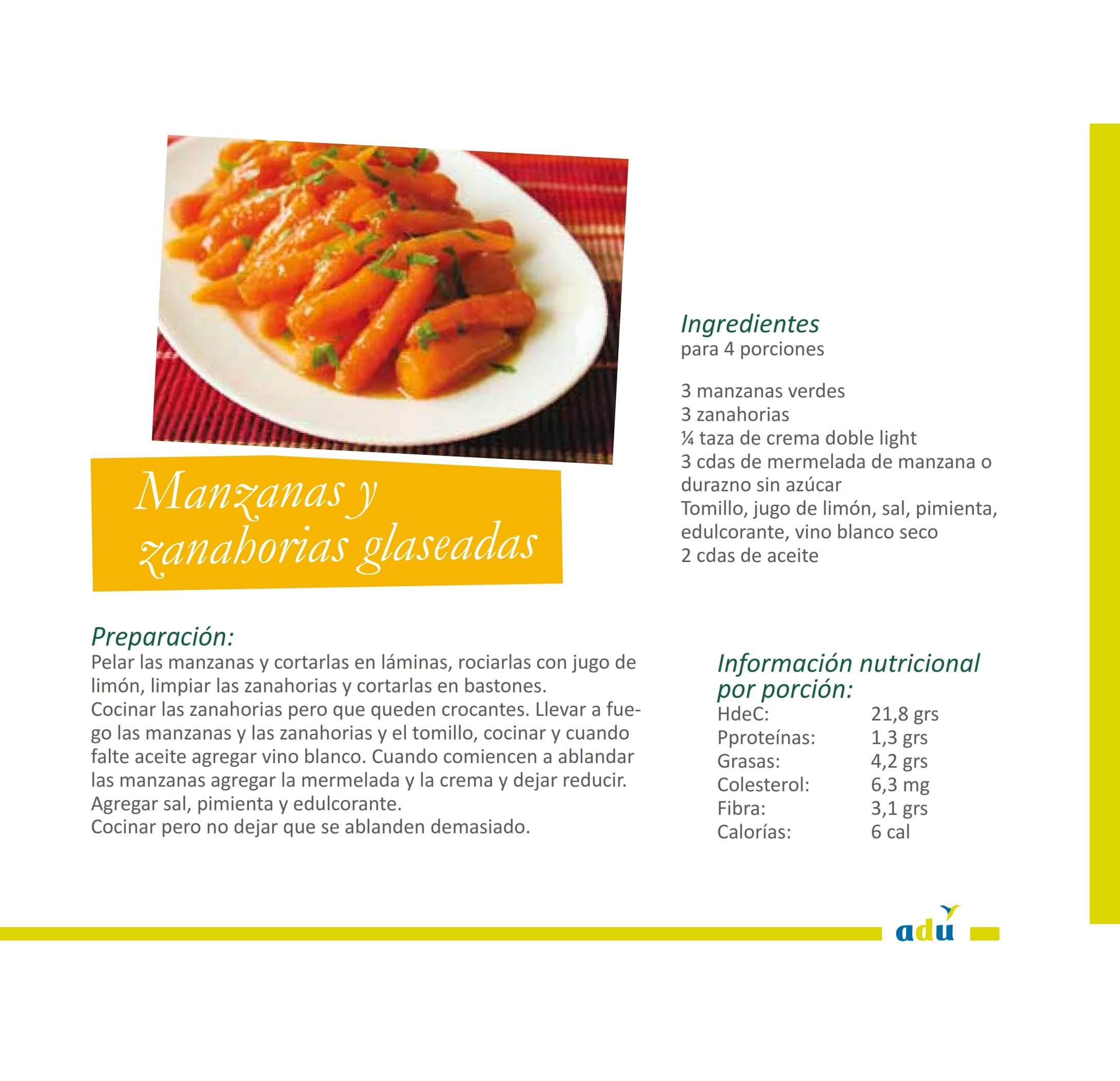 Manzanas y zanahorias glaseadas 001-min